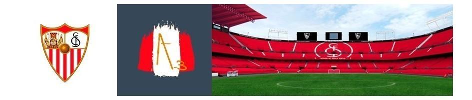 Joyería y Bisutería Sevilla Fútbol Club en Oro