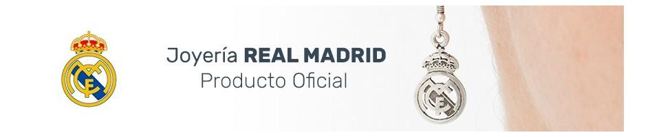 Joyería en Plata del Real Madrid. Producto Oficial.
