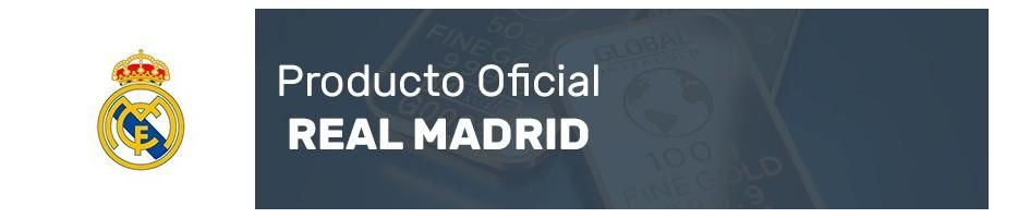 Bisutería terminada en Oro del Real Madrid. Producto Oficial.