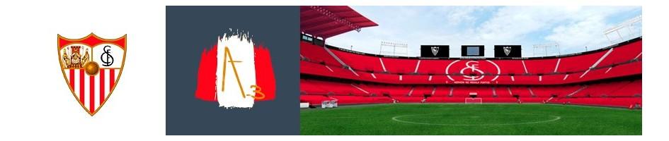 GargantillasSevilla Fútbol Club. Diferentes acabados como Oro o Plata.