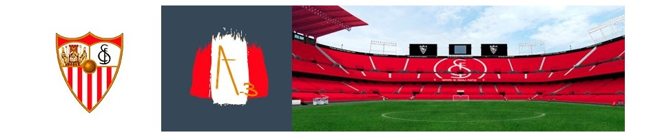 Pendientes Sevilla Fútbol Club. Producto Oficial. Bisutería con Art3.