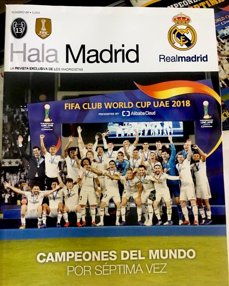 Portada del nº 69 Hala Madrid